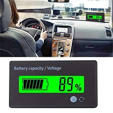 Amazon Com Battery Capacity Monitor 3 In 1 Battery Voltage