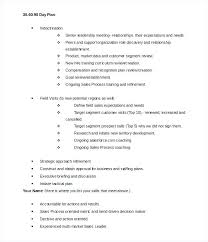 Free Day Plan Template Business For Interview Job