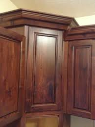 crown return to angled corner cabinet finish carpentry throughout how to cut crown molding for