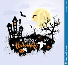 Halloween Template Happy Halloween Template For Banner Or Poster Vector Illustration