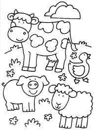 Kinderboerderij Kleurplaten Boerderij Thema Kinderboerderij En