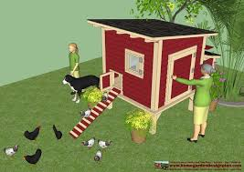 Chicken Coop Plans  Chicken Coop Design  How To Build A Chicken Coop It  can comfortably hold 15  18 chickens