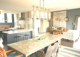 full size of what size linear chandelier for dining room over table modern rectangular island crystal