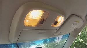 2007 Ford Fusion Dome Light Wont Turn Off How To Replace Ford Fusion Interior Lights Easy
