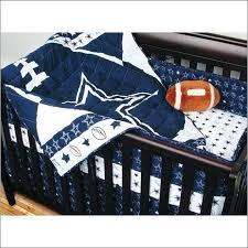 dallas cowboys baby bedding reversible crib quilt larger