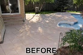 effective painting concrete patio