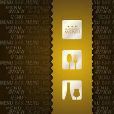 Restaurant Menu Format Free Restaurant Menu 1 Vector Eps Format Free Vector Download