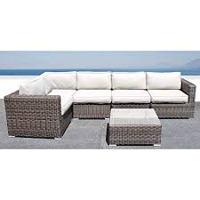 Source outdoor furniture Zen Image Unavailable Mathis Brothers Amazoncom Living Source International Sectional Sofa Wicker
