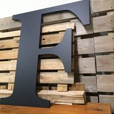big wooden letters letter wall art