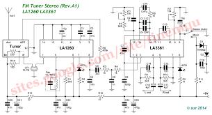 Kumpulan skema elektronika radio komunikasi. Modifikasi Tuner Fm La1260 La3361 Audioshare