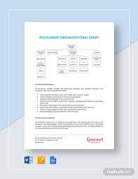 Corporate Organizational Chart Template Word Restaurant Organizational Chart Template Word Google