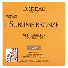 <b>L'Oreal Paris Sublime</b> Bronze Self-Tanning Towelettes for Body ...