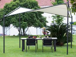 Square Butterfly 12 Ft. W x 12 Ft. D Steel Permanent Canopy