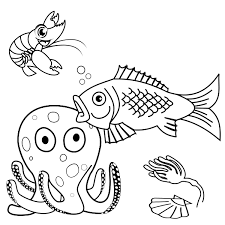color this sea world svg
