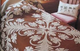 Hawaiian Quilts | GoodMorningGloucester & What we think of as the classic Hawaiian quilt is characterized by a bold,  radial symmetric design (similar to that of a snowflake) or bold, stylized  design ... Adamdwight.com
