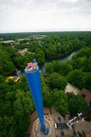mäch tower rises at busch gardens