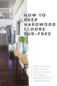 how to have fur free floors with pets