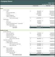 balance sheet template balance sheet template
