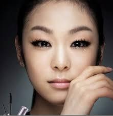 yuna kim monolid makeup