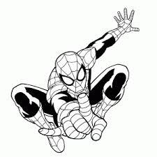 Kleurplaten Ultimate Spider Man