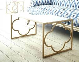 nightstands quatrefoil side table accent tables rose gold