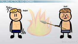 lord of the flies summary themes analysis video lesson  the climax ending of lord of the flies