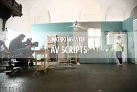av script working with av scripts dramatify