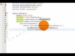 java socket client chat programming code write one by one