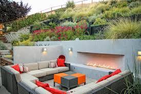 hillside contemporary furniture. Hillside Landscape Designs Patio Contemporary With Raised Planters Square Ottoman Furniture Y