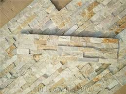 china mixed beige slate stacked stone veneer wall cladding panel ledge stone rock natural split face interior exterior decor culture stone 60x15cm