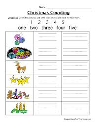 Counting Worksheets | Have Fun Teaching