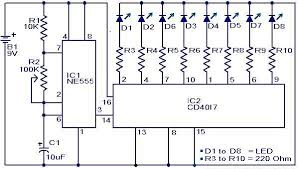 disco led lights circuit using ic 555 gadgetronicx disco led lights circuit diagram ic555