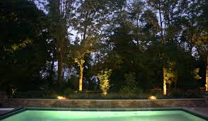 flower bed lighting. playing with different fixture styles and beams to create depthoffield for a stunning backdrop the pool in flemington nj flower bed lighting