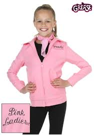 child authentic pink las jacket