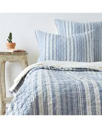 blue cotton quilt. Beautiful Blue Allen Quilt King Quilt Blue Cotton Stripe In Cotton Better Homes And Gardens