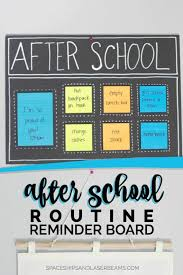 After School Organization Ideas Chore Charts In 2019