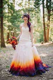 22 ombre wedding dresses for brides who want to show their true