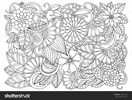 Pretty Coloring Sheet For Adults At Flower Pattern Pages - glum.me