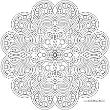 free printable mandala coloring pages for s only coloring page heart mandala free printable mandala coloring