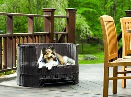 Dog Bed Outdoors The Refined Canine Outdoor Dog Beds Outdoor Dog Bed ...