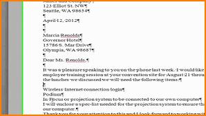 7 Block Business Letter Format References Format