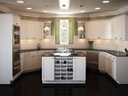 Small Kitchen Island With Seating Fresh And Contemporary Kitchen - One wall kitchen designs