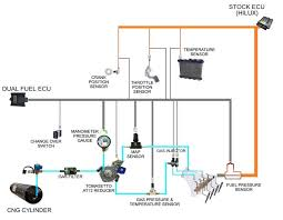 installation diagram of dual fuel conversion kit the cng cylinders installation diagram of dual fuel conversion kit the cng cylinders were mounted under the vehicle