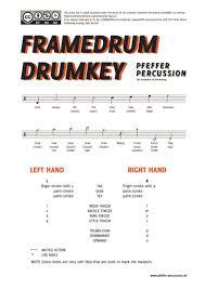 framedrum drumkey