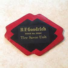 VINTAGE TIRE REPAIR Patch BF Goodrich Rubber Old Car Truck Tube ...