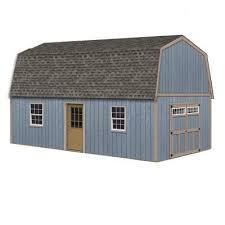 loft wood sheds sheds the home depot