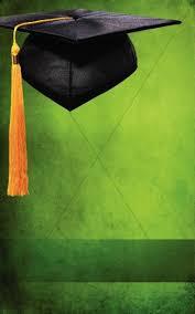 Graduation Cover Photo Graduation Green Program Cover Secular Holiday Bulletin Covers