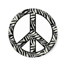 Small Picture Zebra Print Peace Signs Coloring Pages Keanuvillecom
