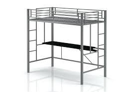 metal loft bed with desk metal loft bed pictures twin metal loft bed with desk and shelving