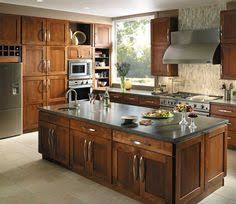 Fieldstone Cabinetry Milan Door Style In Cherry Finished In Nutmeg. Kitchen  Cabinet Makers, Kitchen